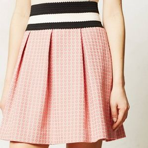 Anthropologie MAEVE Skater skirt